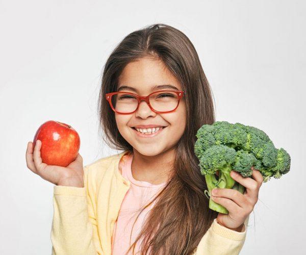 Alimentación saludable en niños y niñas